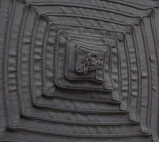 Schwarzes Quadrat detail