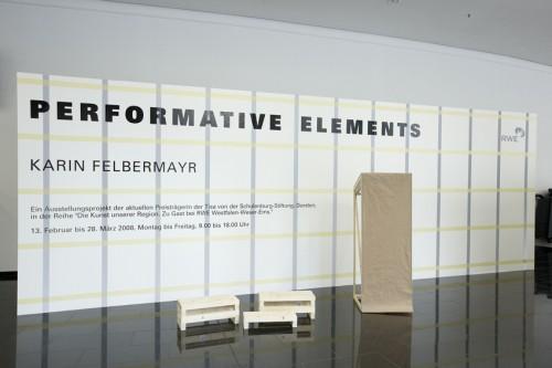 Performative Elements