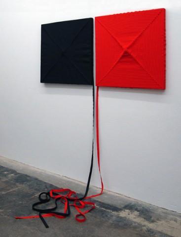 Schwarzes Quadrat - Rotes Quadrat